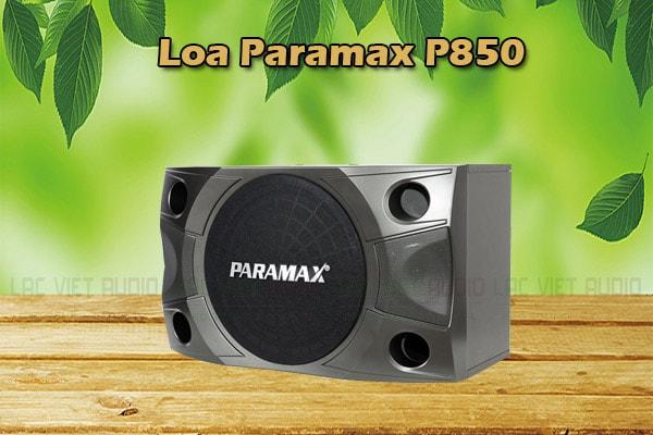 Thiết kế Loa Paramax P850 Lạc Việt Audio