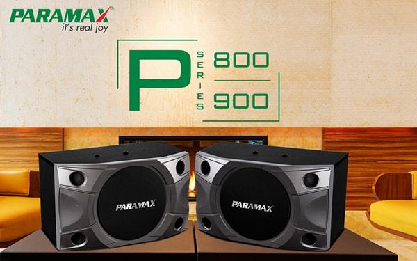 Thiết kế của Loa Paramax P800