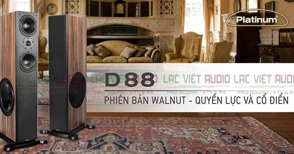 Màu sắc Loa karaoke paramax platium d88 - Lạc Việt Audio
