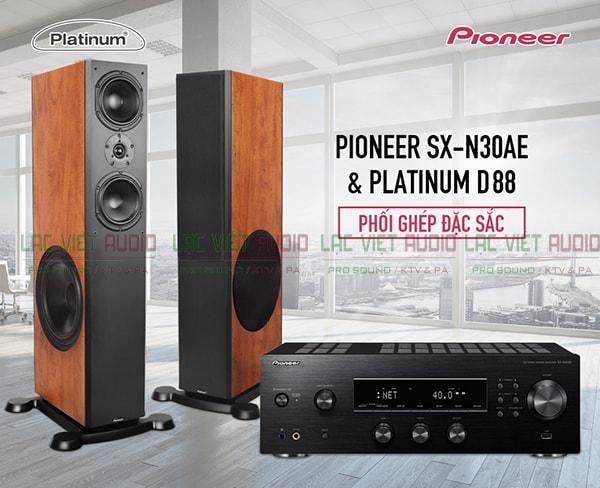 Thiết kế Loa karaoke paramax platium d88 - Lạc Việt Audio