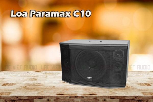 Thiết kế Loa Paramax Pro C10 - Lạc Việt Audio