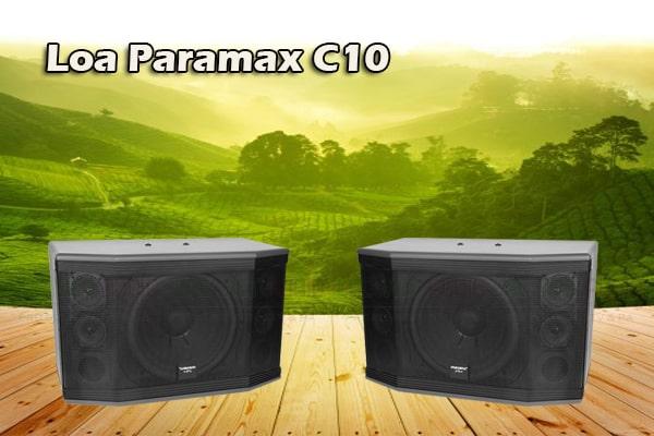 Tính năng Loa Paramax Pro C10 - Lạc Việt Audio