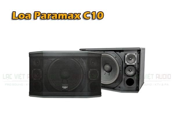Giới thiệu Loa Paramax Pro C10 - Lạc Việt Audio