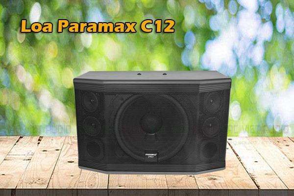 Tính năng của Loa Paramax Pro C12 - Lạc Việt Audio
