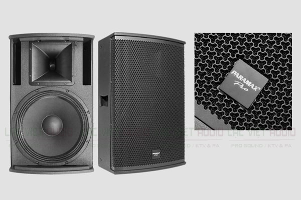 Thiết kế Loa Paramax Pro S15 - Lạc Việt Audio