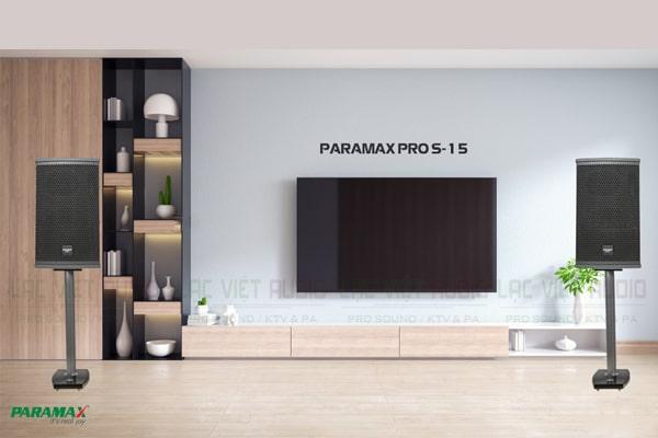 Tính năng Loa Paramax Pro S15 - Lạc Việt Audio