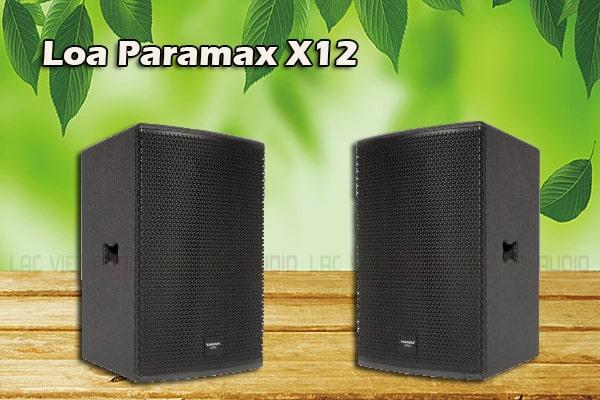 Tính năng của sản phẩm Loa Paramax X12 - Lạc Việt Audio