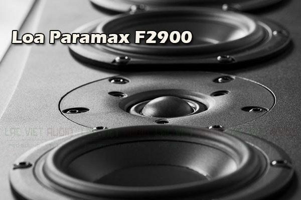 Cấu tạo chi tiết mặt Loa Paramax F2900 - Lạc Việt audio