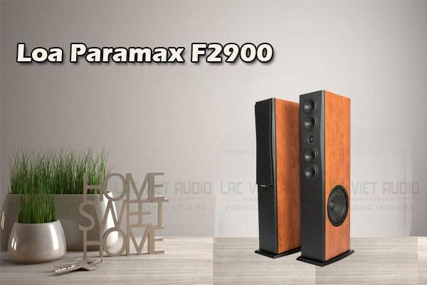 Tính năng Loa Paramax F2900 - Lạc Việt audio