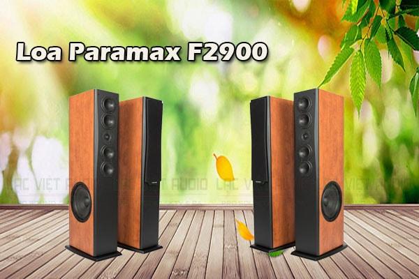 Thiết kế Loa Paramax F2900 - Lạc Việt audio