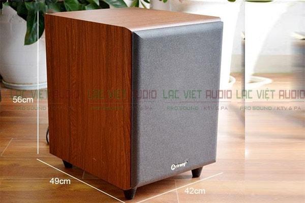 Thiết kế Loa Sub Karaoke Arirang AS III
