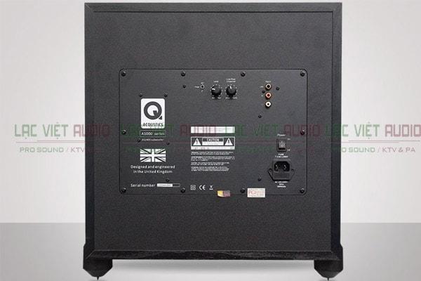 Mặt sau của Loa sub Q Acoustics A1000s