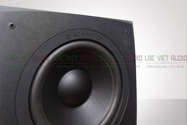 Mặt loa của Loa sub Q Acoustics A1000s
