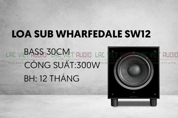 Loa wharfedale sw12 - Lạc Việt Audio