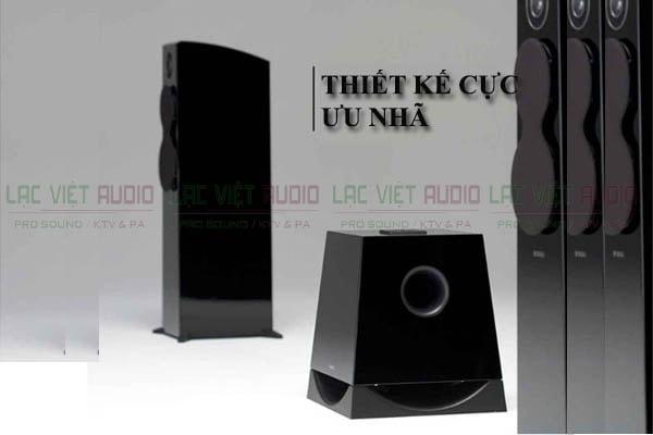 Thiết kế loa sub Yamaha NS SW 700 Lạc việt Audio