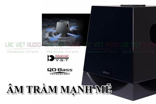 Âm trầm mạnh mẽ loa sub Yamaha NS SW 700 Lạc việt Audio