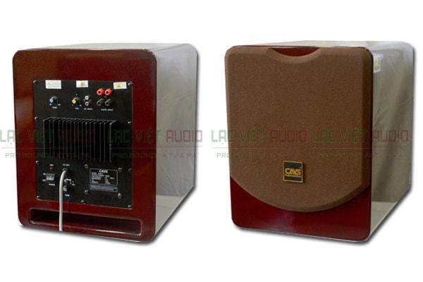 Mặt trước và sau của Loa sub CAVS SA 815- Lạc Việt Audio