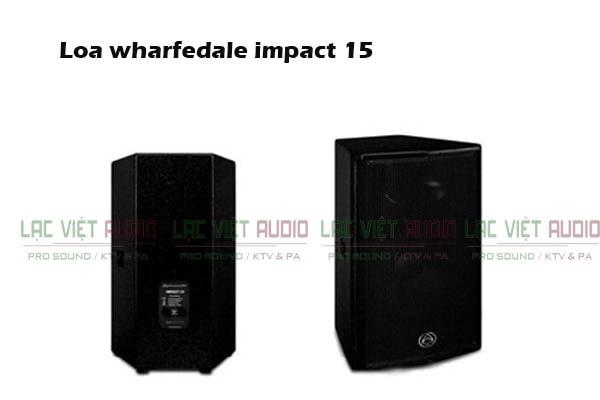 Thiết kế của Loa Wharfedale Impact 15