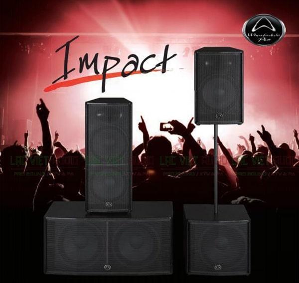 Thiết kế Loa Wharfedale Impact 215
