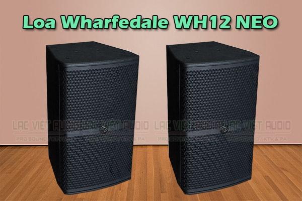 Thiết kế Loa wharfedale WH12 Neo