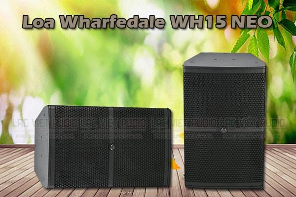 Thiết kế Loa wharfedale wh 15 NEO