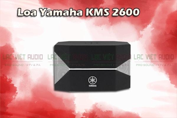 Thiết kế Loa yamaha KMS 2600- Lạc Việt Audio