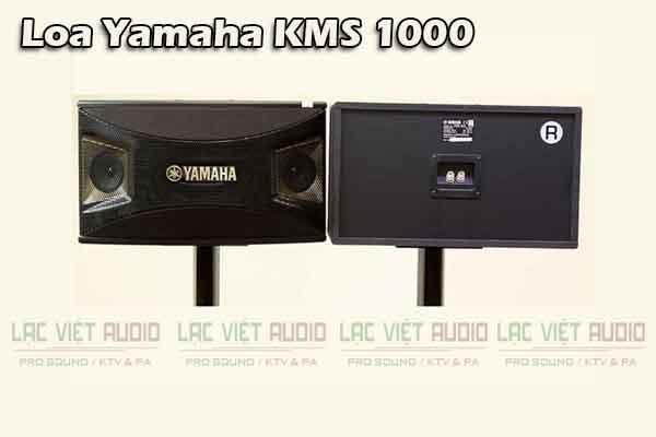 Mặt trước và mặt sau Loa Yamaha KMS 1000 - Lạc Việt Audio