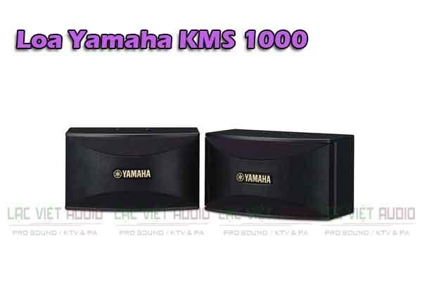 Thiết kế của Loa Yamaha KMS 1000 - Lạc Việt Audio