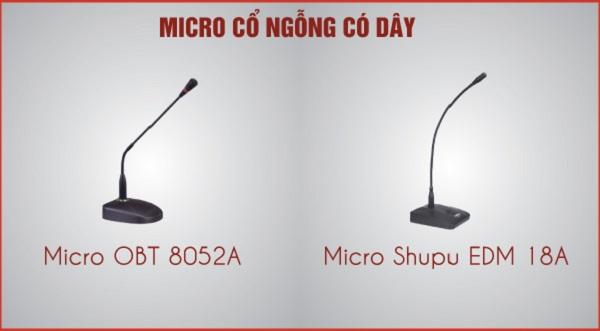 Micro cổ ngỗng nhập khẩu chất lượng nhất