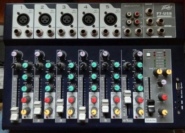 Bàn mixer Karaoke Yamaha