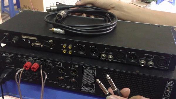 Kết nối mixer với cục đẩy cho hiệu quả hoạt động tốt nhất
