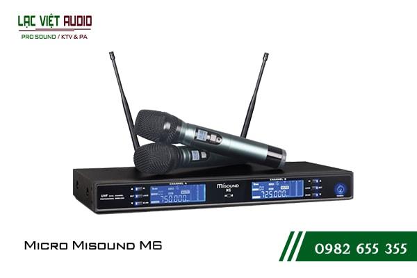 Giới thiệu về sản phẩm Micro Misound M6