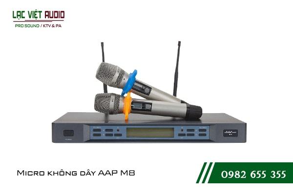 Micro AAP Audio M8 hát Karaoke Chuyên Nghiệp