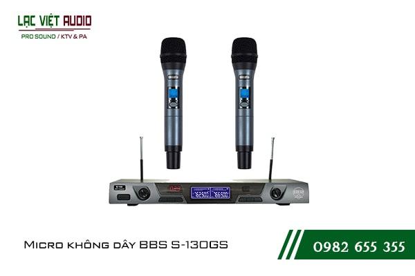 Giới thiệu về sản phẩm Micro BBS S 130GS