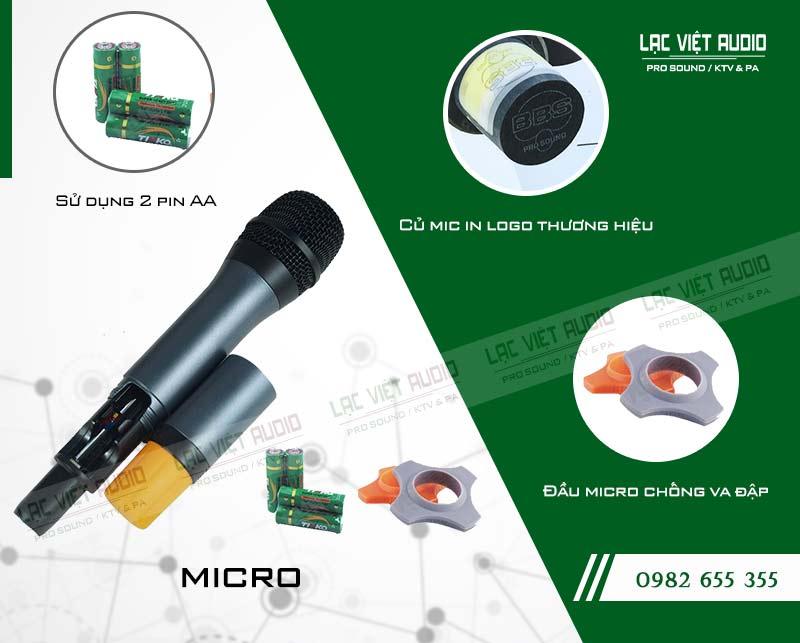 Thiết kế của sản phẩm Micro BBS S 130GS