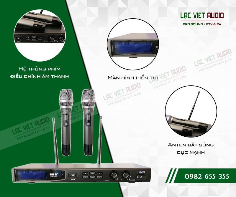 Thiết kế của sản phẩm Micro BBS U 5800GS