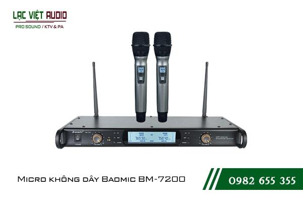 Giới thiệu về sản phẩm Micro không dây Baomic BM7200