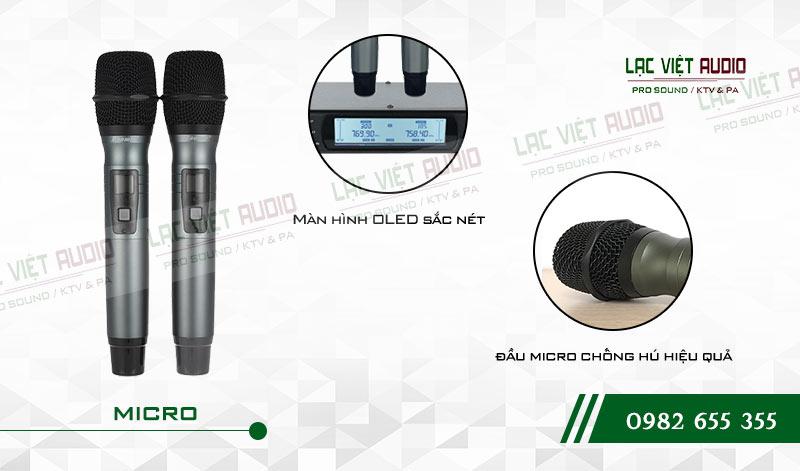 Tính năng của sản phẩm Micro không dây Baomic BM7200