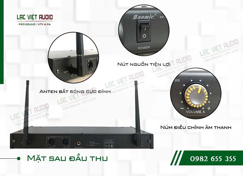 Thiết kế của sản phẩm Micro không dây Baomic BM7200