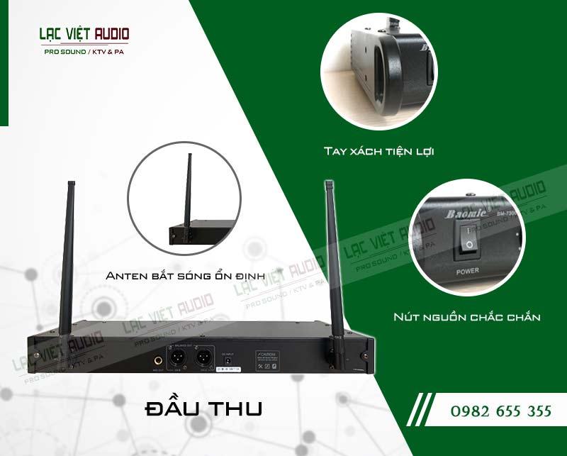Thiết kế của sản phẩm Micro không dây Baomic BM7300