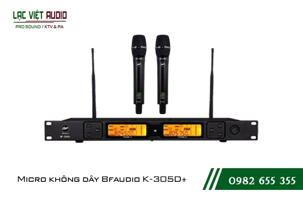 Giới thiệu sản phẩm Micro BFaudio K305D+