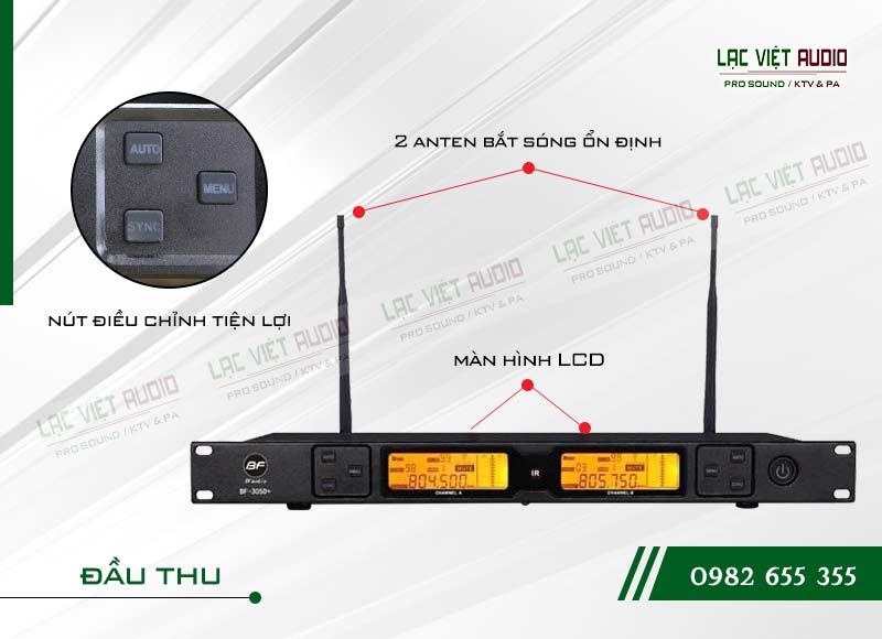 Thiết kế của sản phẩm Micro BFaudio K305D+