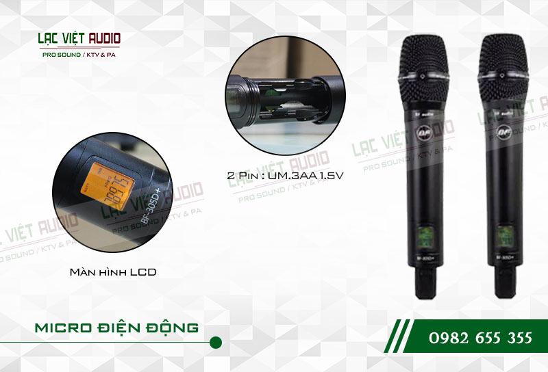 Các tính năng nổi bật của sản phẩm Micro BFaudio K305D+