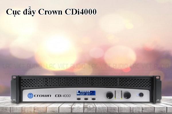 Tính năng của sản phẩm Cục đẩy Crown CDi4000