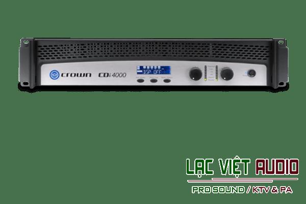 Giới thiệu về sản phẩm Cục đẩy Crown CDi4000