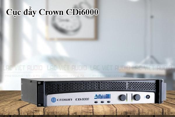 Thiết kế bên ngoài của sản phẩm Cục đẩy Crown CDi6000