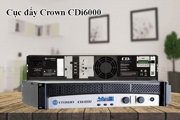 Tính năng của sản phẩm Cục đẩy Crown CDi6000