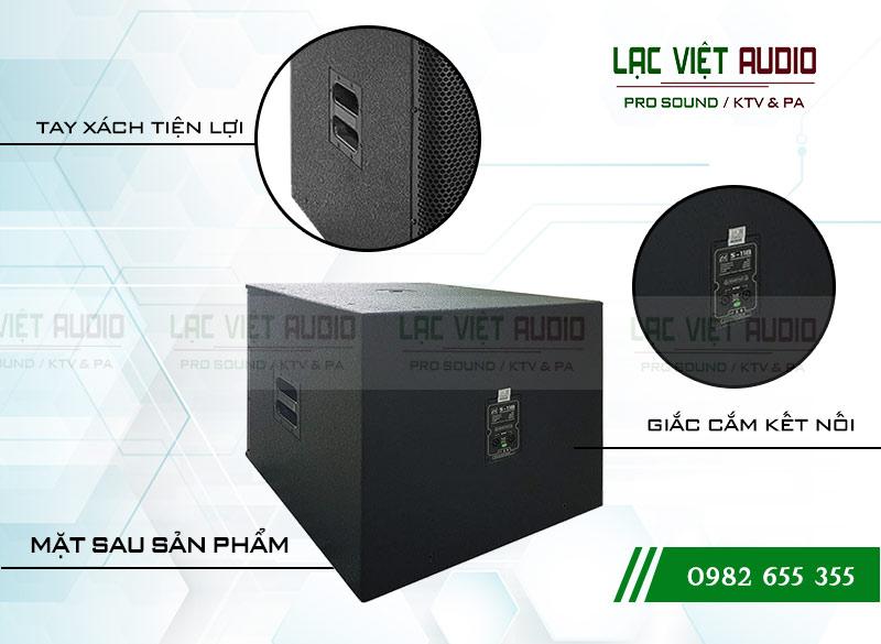 Thiết kế của sản phẩm Loa Sub CA Sound S 118