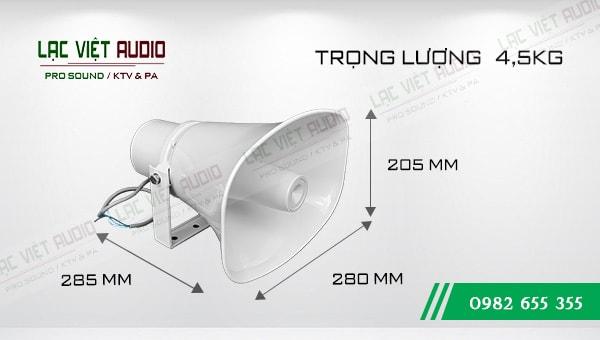 Kích thước của sản phẩm Loa DB KS 603