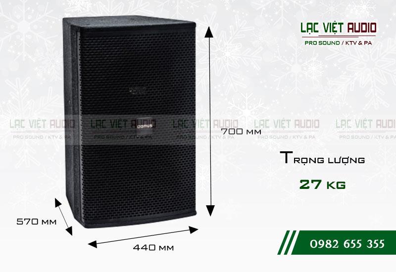Thiết kế của sản phẩm Loa Domus DP 6150